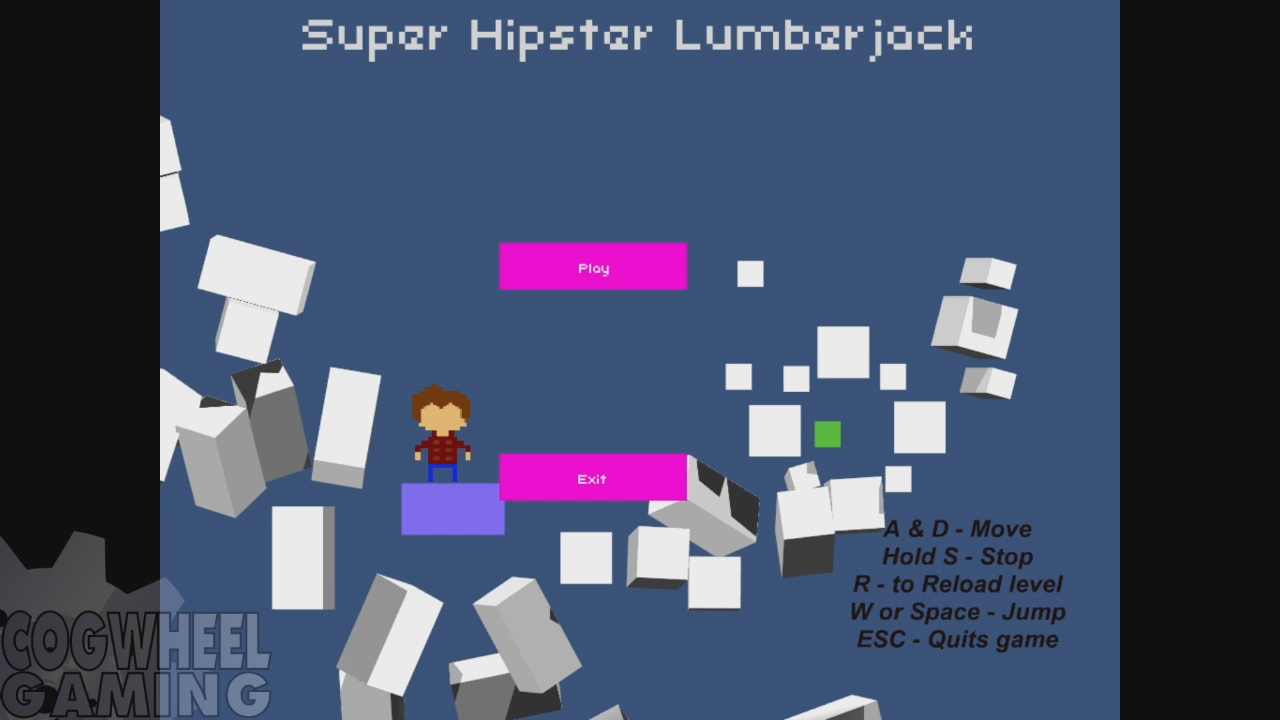 Super Hipster Lumberjack – Cogwheel Gaming