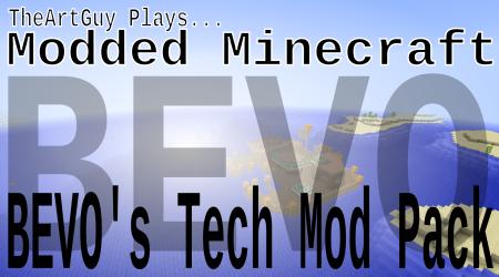 Mars Boss! TheArtGuy Plays Minecraft: Bevo's Tech Ep21