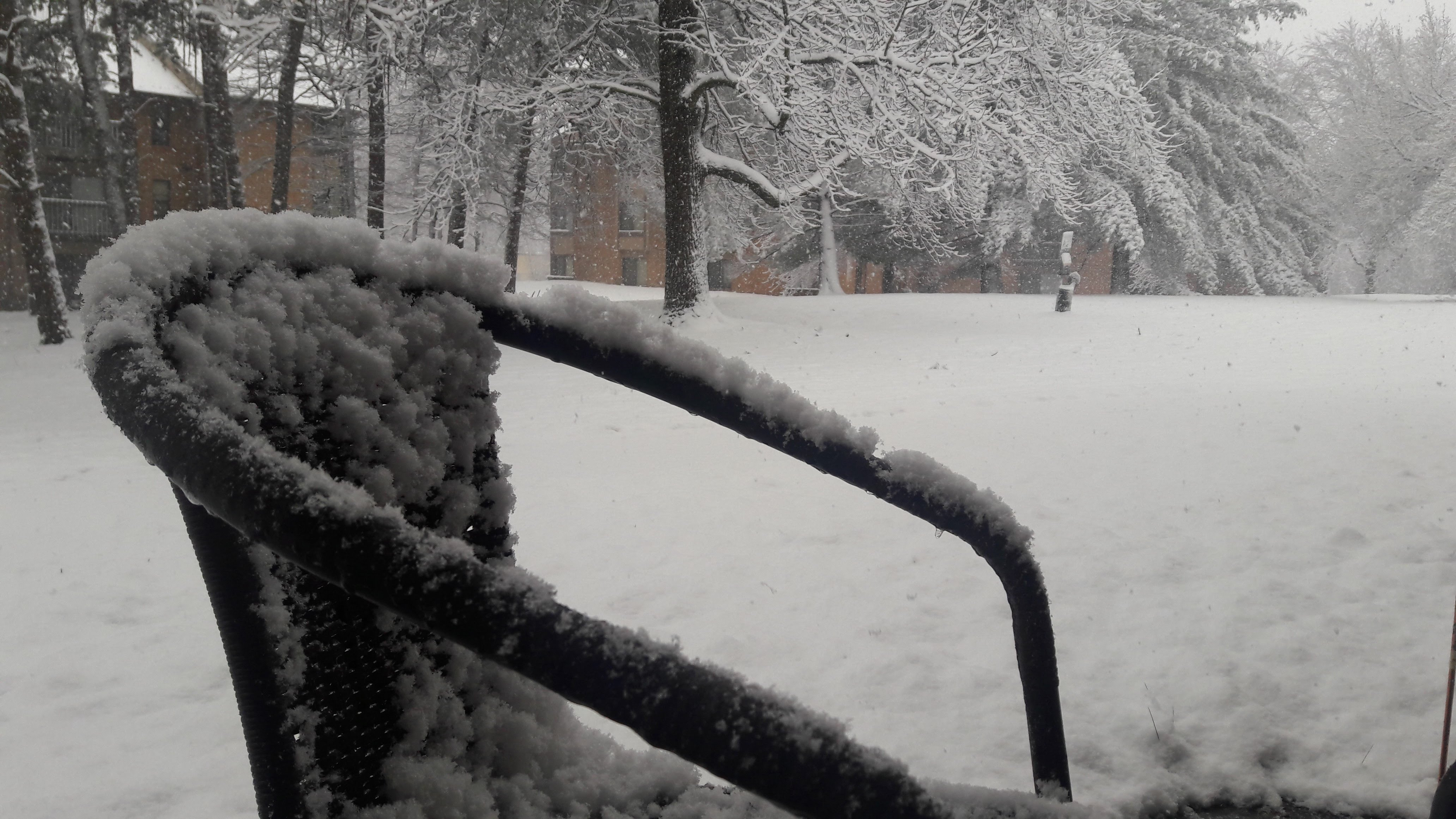 snow day on the 2nd day of spring 2018